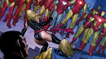 Comics artwork marvel ms. girls sentry avengers wallpaper