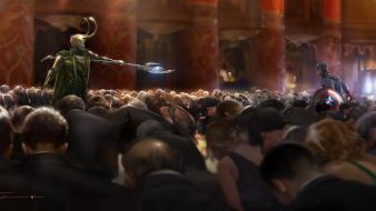 Concept art the avengers loki (movie) sceptres wallpaper