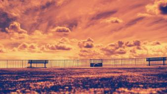 Facebook artistic golden timeline cover sky wallpaper