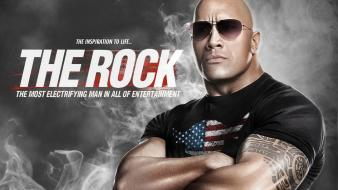 Fake the rock wwe world wrestling entertainment wallpaper