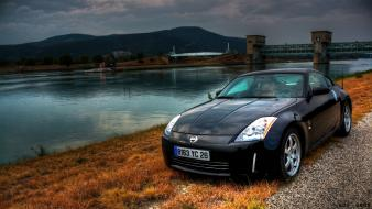 Hdr photography blurred nissan fairlady z33 350z Wallpaper