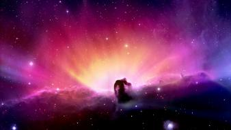 Horsehead nebula bright explosion wallpaper