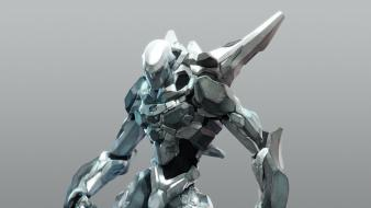 Mecha cgi artwork wallpaper