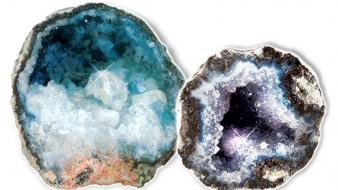 Metal earth rocks stones gems minerals geode rare wallpaper