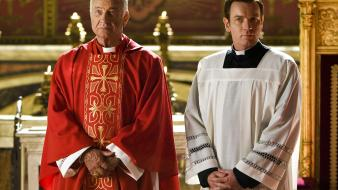 Movies priest ewan mcgregor angels and demons wallpaper
