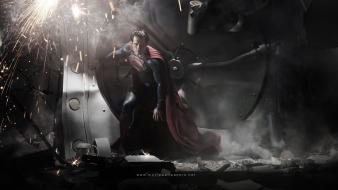 Movies superman henry cavill man of steel (movie) wallpaper