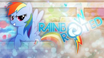 My little pony: friendship is magic style wallpaper