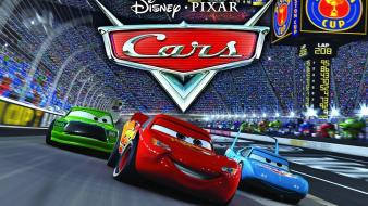 Pixar movies cars vehicles lightning mcqueen disney wallpaper