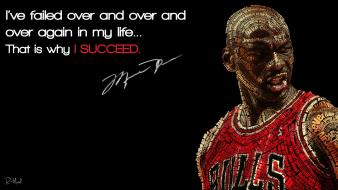 Quotes basketball michael jordan success inspire wallpaper