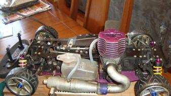 Rc cars engine gas wallpaper