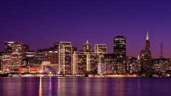 San francisco citylights wallpaper