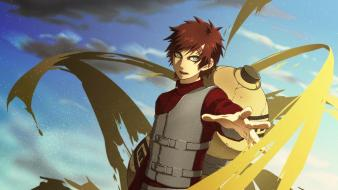 Sand naruto: shippuden green eyes gaara wallpaper