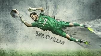Soccer iker casillas Wallpaper
