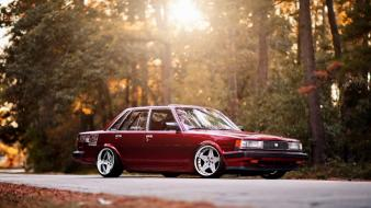 Trees cars toyota outdoors classic roads tuning cressida wallpaper