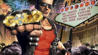 Video games gold duke nukem wallpaper