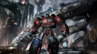 Video games pc widescreen transformers fall of cybertron wallpaper