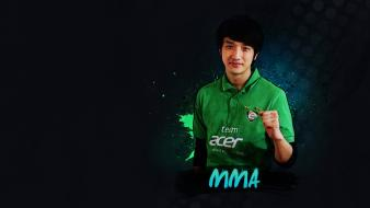 Video games starcraft team mma acer ii esports wallpaper