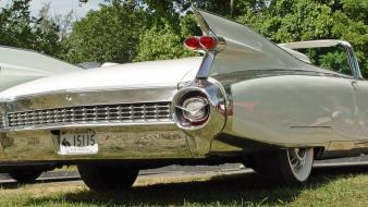 White cadillac convertible eldorado old car 1959 wallpaper