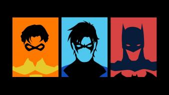 Batman robin dc comics nightwing Wallpaper