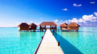Beach summer maldives Wallpaper