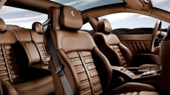 Black cars ferrari interior vehicles wallpaper