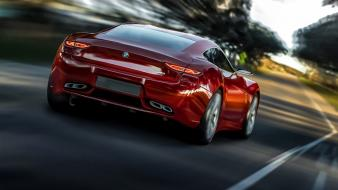 Bmw red cars m9 wallpaper
