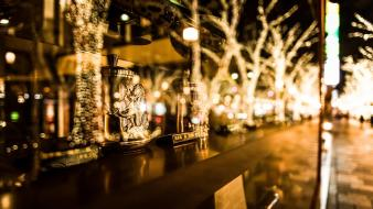 Bokeh engraving depth of field blurred ornaments wallpaper