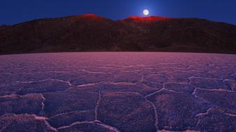 California death valley national park moonrise Wallpaper