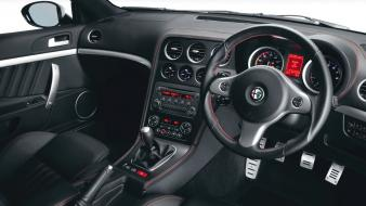 Cars interior alfa romeo vehicles brera s wallpaper