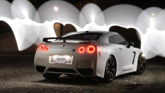 Cars nissan red dragon gt Wallpaper