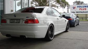 Cars parking vehicles rear view bmw m3 e46 wallpaper