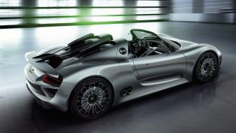 Cars vehicles porsche 918 spyder prosche Wallpaper