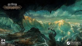Cave the dark eye chains of satinav wallpaper