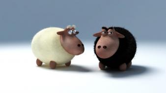 Cgi sheep 3d Wallpaper