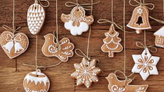Christmas holidays cookies sweets lovely wallpaper