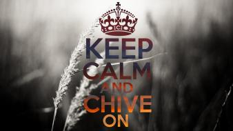 Coloring keep calm kcco the chive chiveon wallpaper