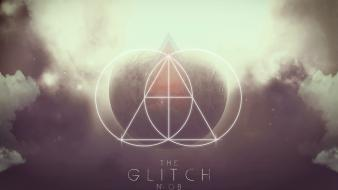 Design shapes skyscapes triangles the glitch mob wallpaper