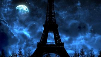 Eiffel tower paris fish france ville cities wallpaper