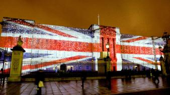 England london illuminated buckingham palace wallpaper