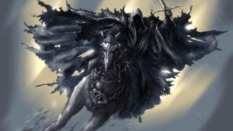 Fantasy art nazgul artwork shades wallpaper