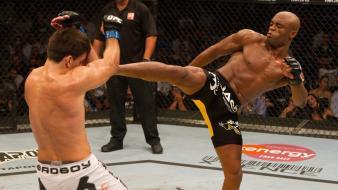 Fight mma ufc anderson silva demian maia wallpaper