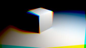 Figure cubes 3d wallpaper
