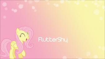 Fluttershy ponies my little pony: friendship is magic wallpaper