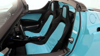 Green cars interior brabus tesla roadster wallpaper