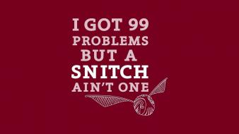 Humor harry potter snitch red background jay z wallpaper