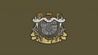 Indiana jones coat of arms wallpaper