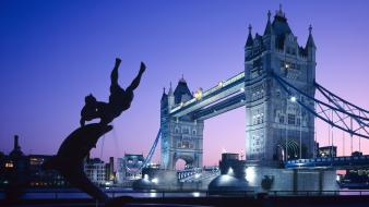 London united kingdom tower bridge Wallpaper