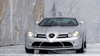 Mercedes-benz headlights mercedes benz slr mclaren wallpaper