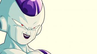 Minimalistic freezer dragonball wallpaper