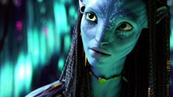 Movies avatar zoe saldana hollywood james cameron wallpaper